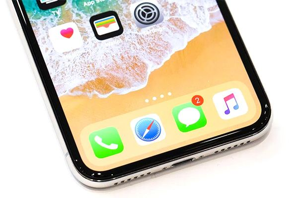 iPhone X Screen Space