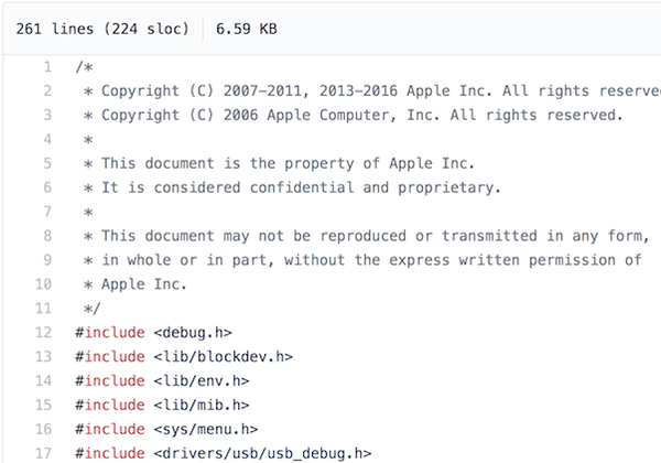 iBoot -- screenshot of the leaked code