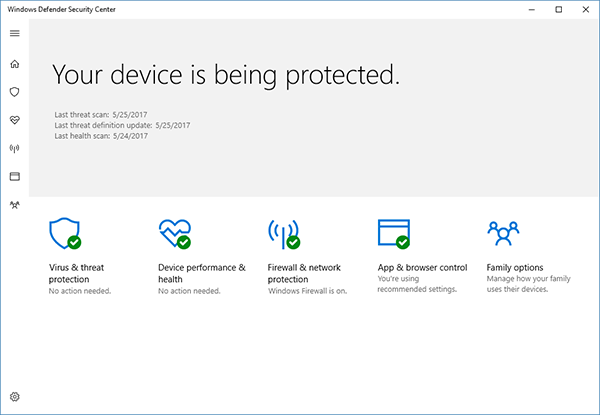 windows 10 defender - Windows 10 Defender Can Protect Against Scareware