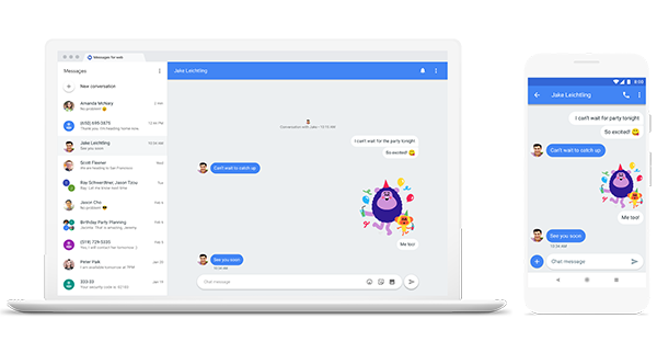 google chat app - SMS Texts: Say Bye to Them and Be Ready for Chat!