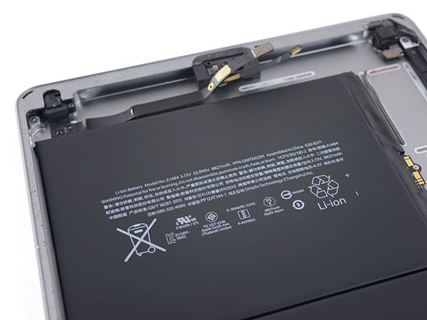 ipad2018 03 battery - iFixit - Inside of the iPad 6th Generation (2018)