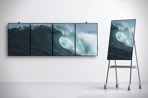 Microsoft Surface Hub 2 Changes the Office Work