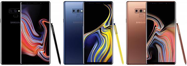 samsung galaxy note 9 colors - Samsung Galaxy Note 9 Flagship Fablet Arrives