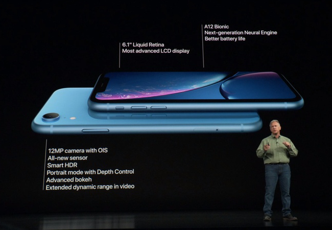 The iPhone XR price starts from $749