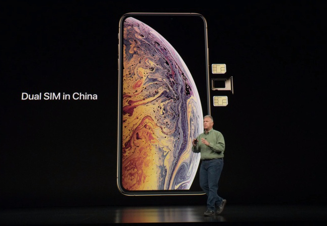 For the first time in history the iPhone gets two SIM cards support