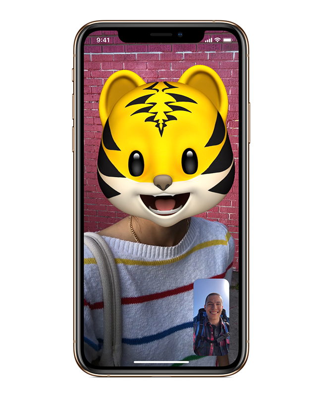 Add more personality to photos and videos in Messages and FaceTime with fun camera effects