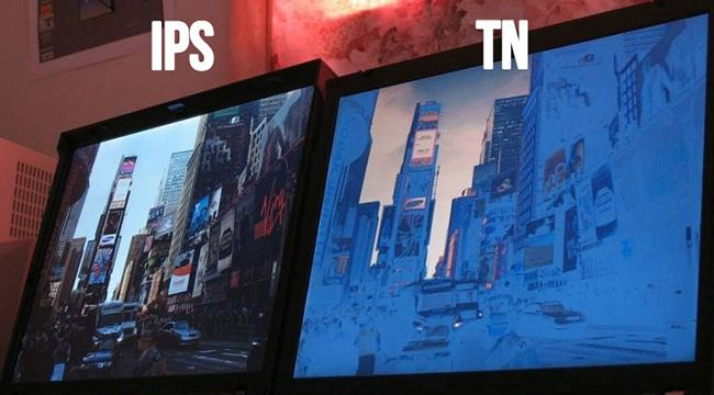 ips tn angle - Types of Smartphones' Displays on the Market