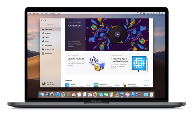 macos mojave new app store - MacOS Mojave: Apple's New Operating System, in Detail