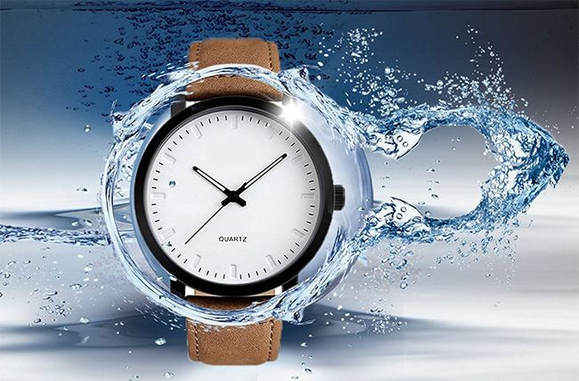 A watch may say 5 atm, or waterproof to 50m. But this does not mean that the device is waterproof when immersed in water up to 50m.