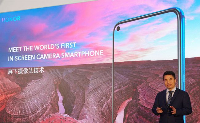 Huawei Honor View 20: meet the world's first in-screen camera smartphone.