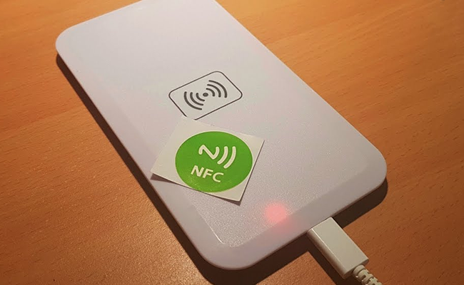 Sadly enough, this technology won't yet work for smartphones. An NFC-enabled phone can charge only low-power devices via NFC beam, but not other phones.