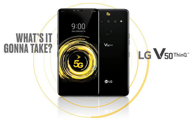 A mobile revolution is here - and the LG V50 ThinQ™ 5G is helping lead the charge.