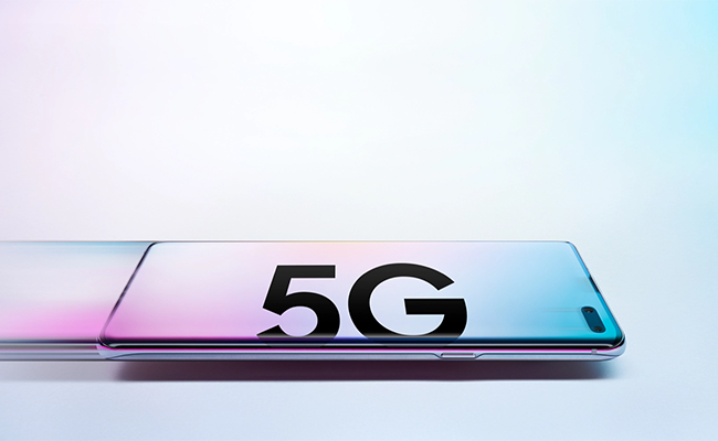 The revolutionary Galaxy S10 5G - the first 5G phone.