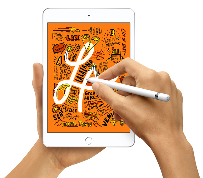 A major upgrade to the beloved iPad mini brings Apple Pencil support, Retina display and the A12 Bionic chip.