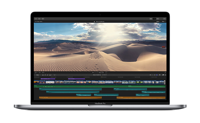 MacBook Pro 2019 Sports New 6-core Intel Chips