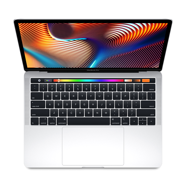 Updated 13-inch MacBook Pro now features the latest processors for twice the performance, Touch Bar and Touch ID, and a True Tone Retina display.