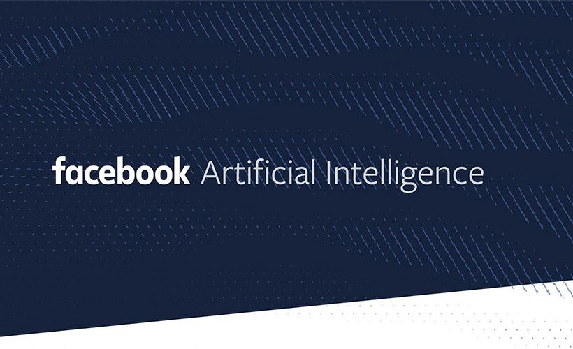 Facebook AI company official poster.