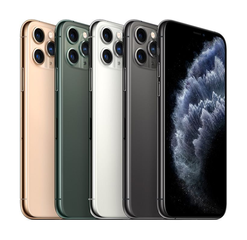 iPhone 11 Pro and iPhone 11 Pro Max Come in Gorgeous Midnight Green, Space Gray, Silver and Gold Finishes.