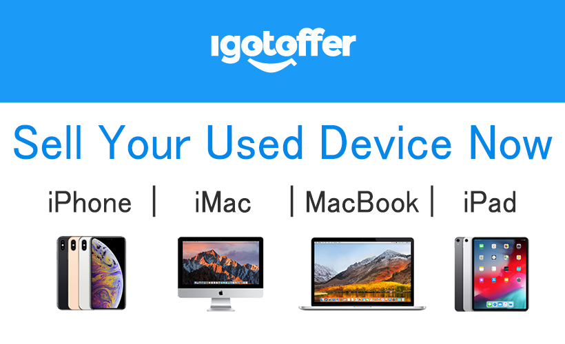 iGotOffer.com allows people to exchange their used Apple products and other electronics for cash.