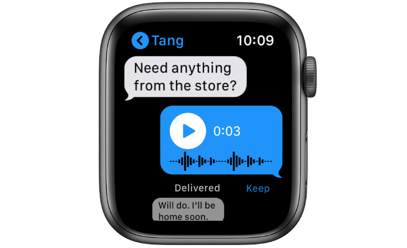 apple watch some features messages - Apple Watch - Some of it's Features