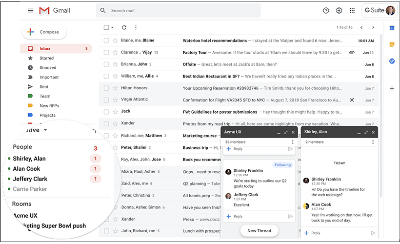 gmail rewamped and gmail quadrupled chat - Gmail rewamped and Gmail quadrupled