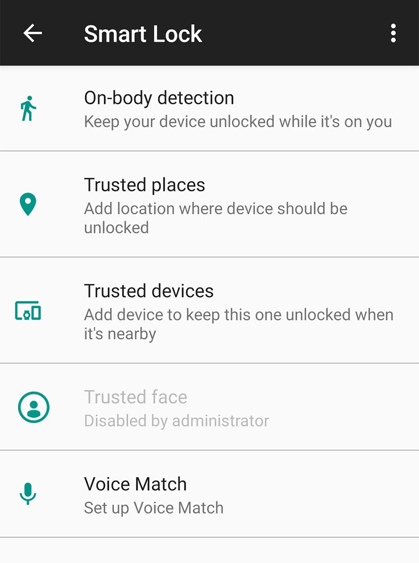 hidden android features smart lock - Hidden Android Features