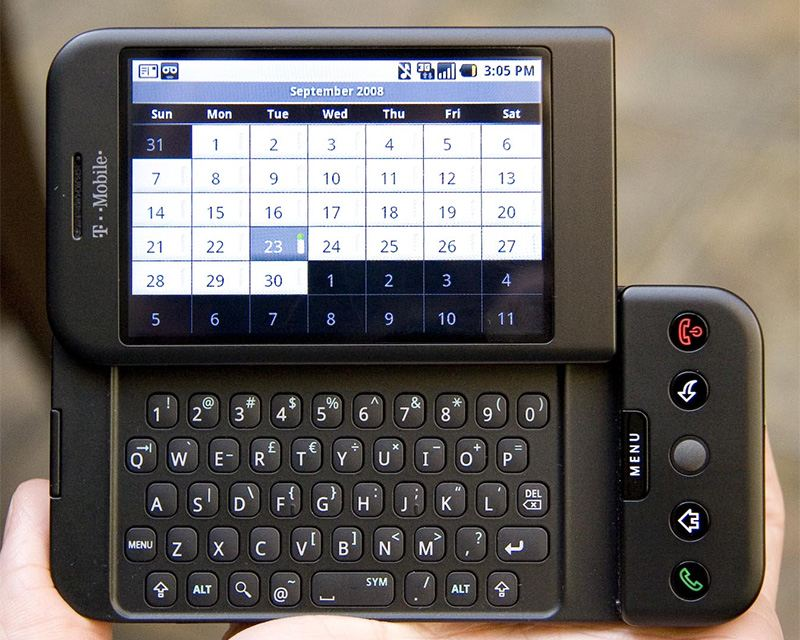 the story of apple and google more things change htc dream - The Story of Apple and Google - More Things Change...