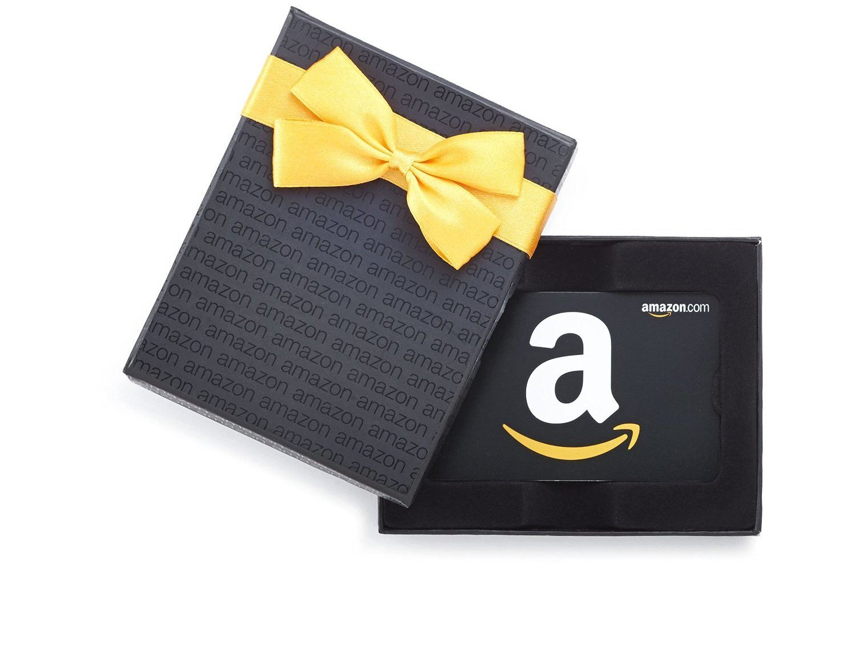 Amazon Gift Card in box