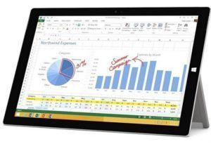 Types of laptops. Microsoft Surface 3 Pro tablet