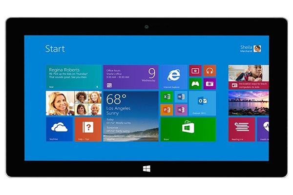 microsoft surface pro 2 late 2013 intel core i5 front - Microsoft Surface Pro 2 (Core i5, Late 2013)
